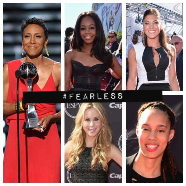 #Fearless Ladies at the 2013 ESPY's
